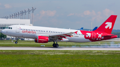 D-ABDB - Airbus A320-214 - Air Berlin