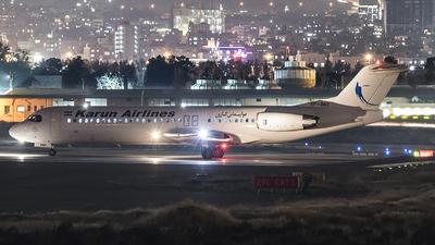 EP-AWZ - Fokker 100 - Karun Airlines