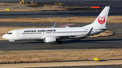 A picture of JA336J - Boeing 737846 - Japan Airlines - © X Pan