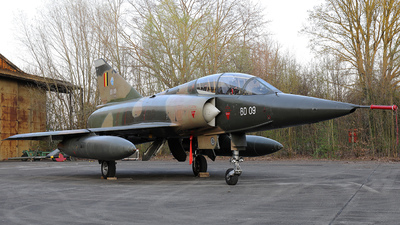 BD09 - Dassault Mirage 5BD - Belgium - Air Force