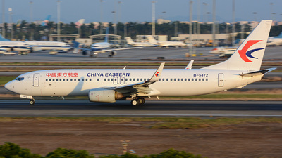B-5472 - Boeing 737-89P - China Eastern Airlines