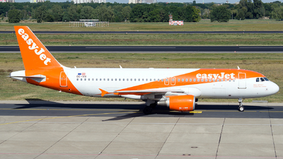 OE-IVX - Airbus A320-214 - easyJet Europe