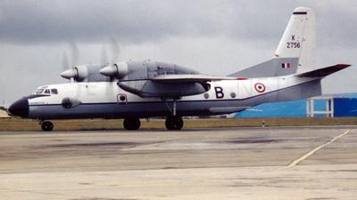 K2756 - Antonov An-32 - India - Air Force