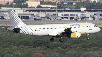EC-LQN - Airbus A320-232 - Vueling Airlines