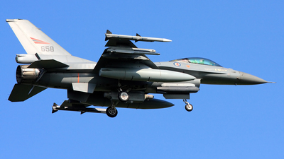 658 - General Dynamics F-16AM Fighting Falcon - Norway - Air Force
