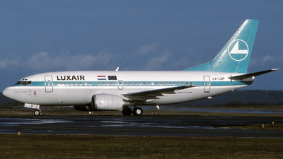 LX-LGP - Boeing 737-5C9 - Luxair - Luxembourg Airlines