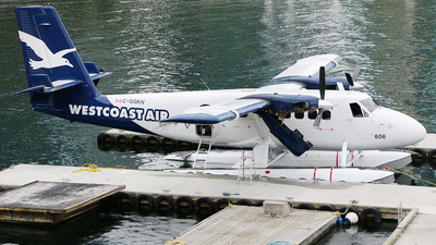 C-GQKN - De Havilland Canada DHC-6-100 Twin Otter - West Coast Air