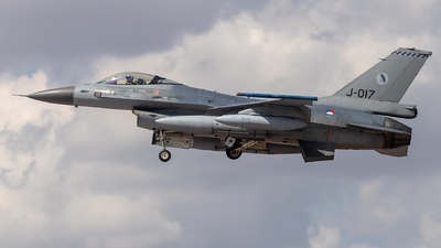 J-017 - General Dynamics F-16AM Fighting Falcon - Netherlands - Royal Air Force