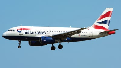 G-DBCC - Airbus A319-131 - British Airways