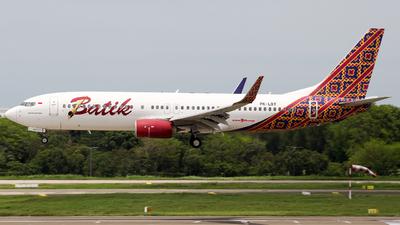 A picture of PKLBT - Boeing 7378GP - Batik Air - © Herison Riwu Kore