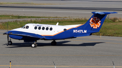 A picture of N547LM - Beech B200 Super King Air - [BB1642] - © Jeroen Stroes
