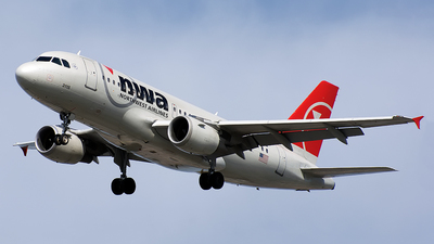 N315NB - Airbus A319-114 - Northwest Airlines