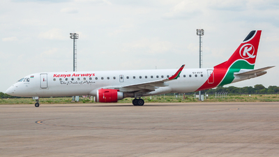 5Y-FFF - Embraer 190-100IGW - Kenya Airways