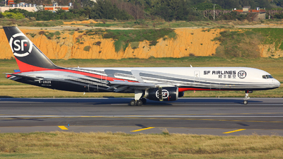 A picture of B2826 - Boeing 7572Y0(PCF) - SF Airlines - © Chen.y.h_sh666