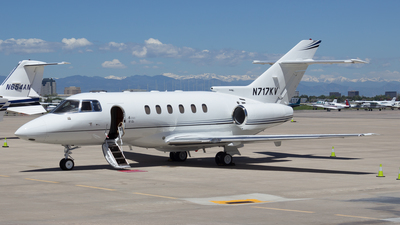 N717KV - Hawker Beechcraft 800XP - Private