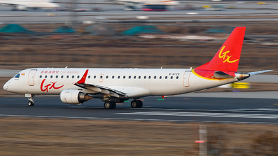 A picture of B3125 - Embraer E190LR - GX Airlines - © JetblastAviation