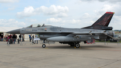 FA-86 - General Dynamics F-16AM Fighting Falcon - Belgium - Air Force