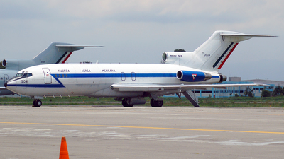 3504 - Boeing 727-14(F) - Mexico - Air Force