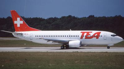 HB-IIA - Boeing 737-3M8 - TEA Switzerland