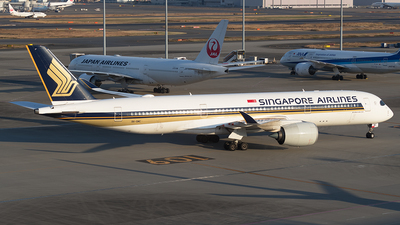 9V-SMC - Airbus A350-941 - Singapore Airlines