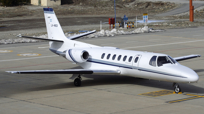 LV-RED - Cessna 560 Citation V - Private