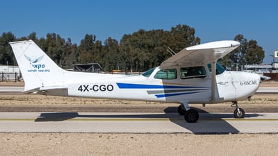 4X-CGO - Cessna 172M Skyhawk - Sky Aviation