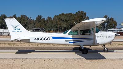 A picture of 4XCGO - Cessna 172M Skyhawk - [17261568] - © Noam Herman