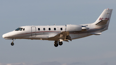 SE-RIL - Cessna 560XL Citation XLS - Svenskt Industriflyg