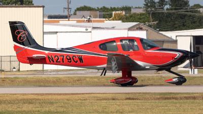 N279CW - Cirrus SR22T - Private