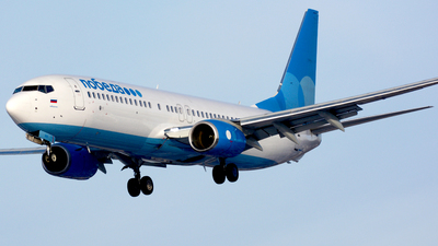 A picture of VPBQY - Boeing 7378MC - Pobeda - © Fedor Kabanov