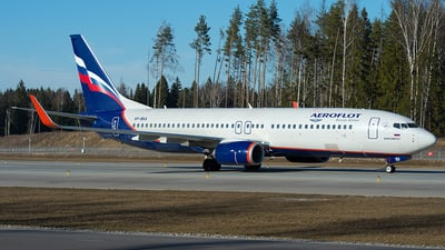 VP-BKA - Boeing 737-8LJ - Aeroflot