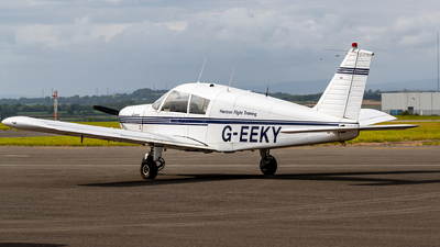 G-EEKY - Piper PA-28-140 Cherokee B - Horizon Flight Training