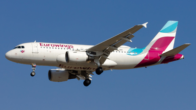 A picture of DAKNV - Airbus A319112 - Eurowings - © Peter Tolnai