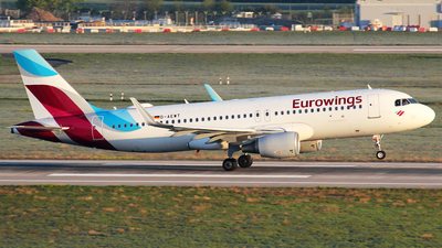 A picture of DAEWT - Airbus A320214 - Eurowings - © Christian Weber