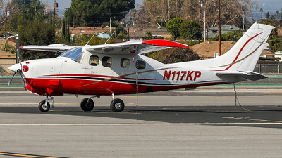 N117KP - Cessna P210R Pressurized Centurion II - Private