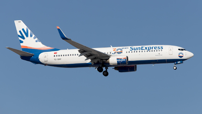 A picture of TCSNV - Boeing 73786J - SunExpress - © Mustafa Sandikci