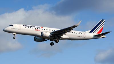 F-HBLL - Embraer 190-100STD - Air France HOP
