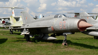 93 - Mikoyan-Gurevich MiG-21S Fishbed J - Soviet Union - Air Force