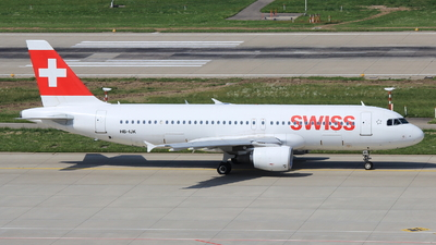 A picture of HBIJK - Airbus A320214 - Swiss - © Christoph Plank