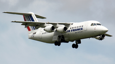 EI-RJG - British Aerospace Avro RJ85 - Air France (CityJet)