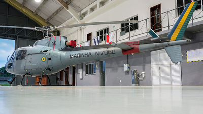 N-7080 - Helibrás UH-12 Esquilo - Brazil - Navy