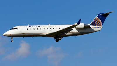 N419AW - Bombardier CRJ-200ER - United Express (Air Wisconsin)
