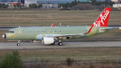 F-WWBS - Airbus A320-216 - AirAsia