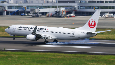 JA301J - Boeing 737-846 - Japan Airlines (JAL)