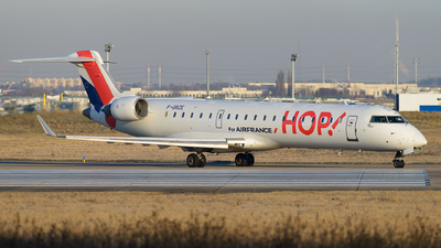 F-GRZE - Bombardier CRJ-702 - HOP! for Air France