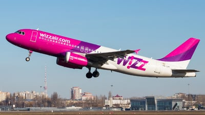 HA-LPT - Airbus A320-232 - Wizz Air