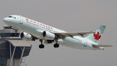 C-FZUB - Airbus A320-214 - Air Canada