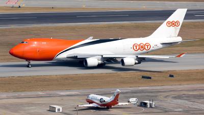 OO-THB - Boeing 747-4HAERF - TNT (ASL Airlines)