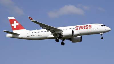 A picture of HBJCO - Airbus A220300 - Swiss - © Peter Cook