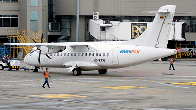 A picture of HK5321 - ATR 42600 - EasyFly - © Cesar Prieto